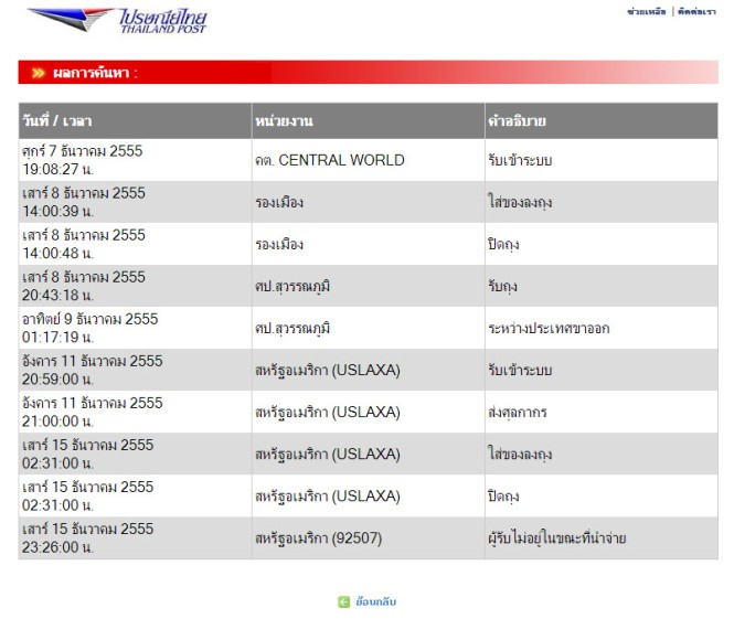 ThailandPost-Track