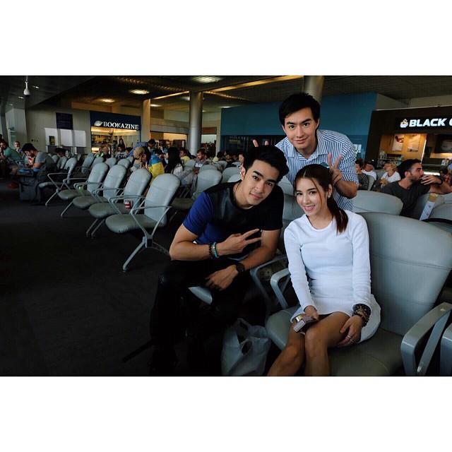Credit photo typhoonkpn: บรรยากาศที่สนามบินอีกมุม จากคุณไต้ฝุ่น