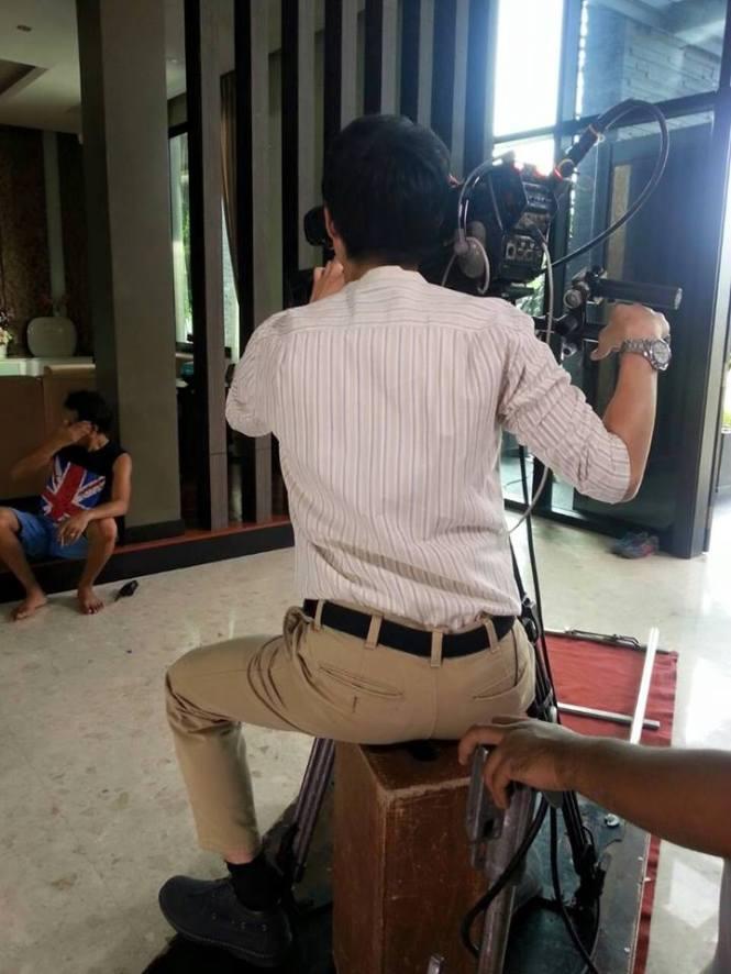 Credit photo prakotkarndee fb: เบื้องหลังกองละครของจริง คนที่เรารู้ว่าใคร ฮุ ฮุ
