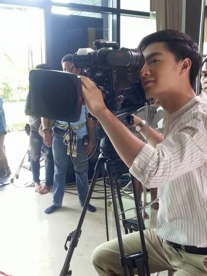 Credit photo prakotkarndee ig: นี่รู้เลยนะว่าพักกองวินจะทำอะไร สัมภาษณ์พี่ตากล้องใช่ไหม