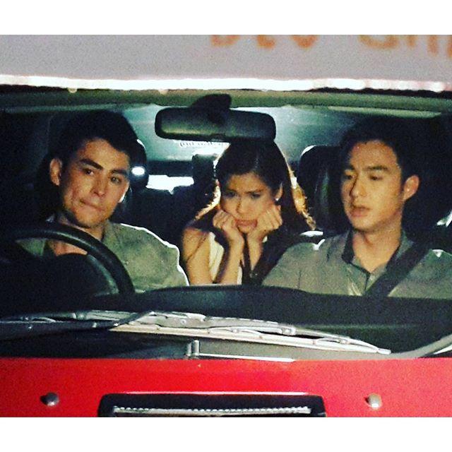 Credit clip alynaka ig: ซีนปิดท้ายคำคืนที่ผ่านมา นั่งซุ่มบนรถฟิวแอบสังเกตการณ์อะไรบางอย่าง