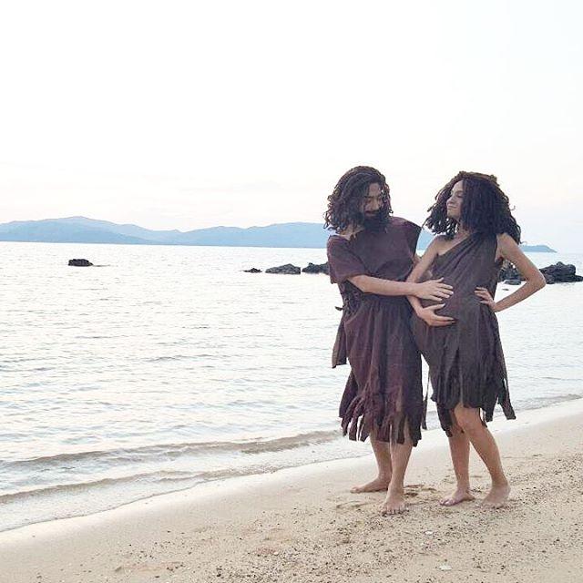 Credit photo kwanusa9_officialfanclub ig: คือน่าจับไปปล่อยเกาะมากคู่นี้ รูปเซ็ตนี้ดูแล้วยิ้มไปขำไปตลอด