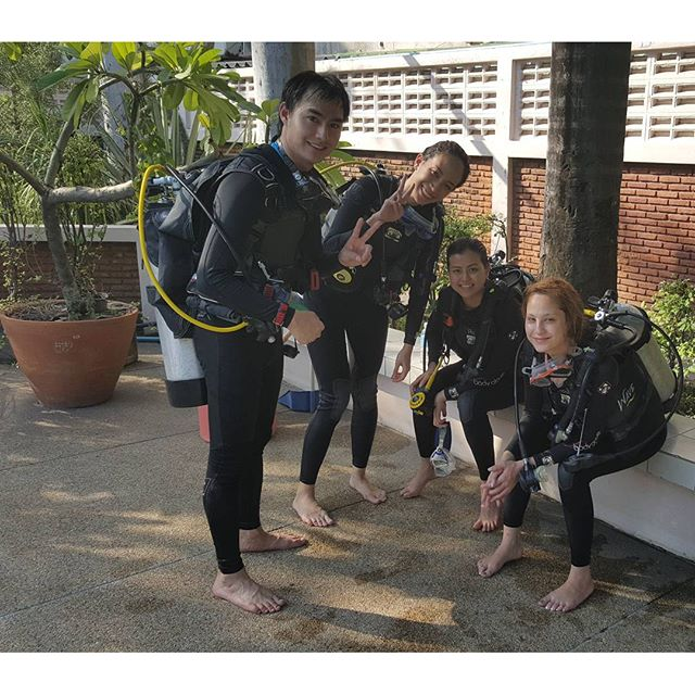 Credit photo kwanusa9 ig: โห้จารย์วินมีลูกศิษย์ตั้งสามคนเลยเหรอ สอนเป็นไงบ้างนะอยากรู้
